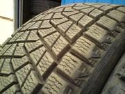 Продам комплект шин б/у зима (липучки) R21 265/45  Bridgestone Blizzak
