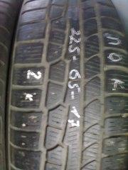 Продам шины б/у Nokian 225 /65 R17