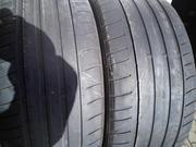 Продам пару шин б/у лето R18 245/40  Dunlop