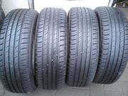 Продам комплект шин б/у лето R15 185/65  Nokian