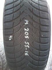 Зимние  шины Michelin Alpin 205/55 R16