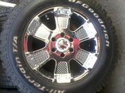 Продам шины BF Goodrich 265/60 R18 с дисками