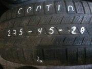 Зимние шины Continental 275/45 R20