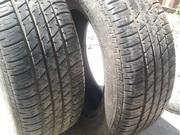 Продам пару шин б/у лето 205/60 R15 Dunlop