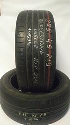 Б/у шины 275/45R19 (2 шт) Bridgestone Dueller H/P Sport